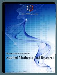 International Journal of Applied Mathematical Research