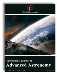 International Journal of Advanced Astronomy